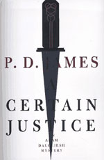 A Certain Justice by P. D. James