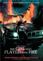 The Girl Who Played with Fire (DVD Cover)