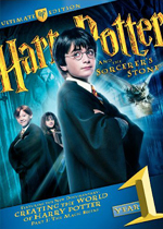 Harry Potter and the Sorcerer's Stone (DVD Cover)
