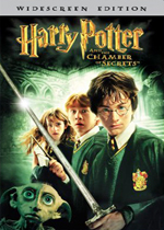 Harry Potter and the Chamber of Secrets (DVD Cover)