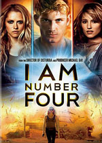 I Am Number Four (DVD Cover)