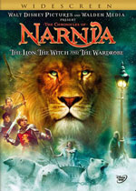 The Chronicles of Narnia: The Lion, the Witch and the Wardrobe (DVD Cover)