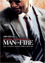 Man on Fire (DVD Cover)