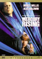 Mercury Rising (DVD Cover)