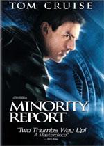 Minority Report (DVD Cover)