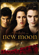The Twilight Saga: New Moon (DVD Cover)